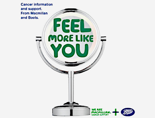 Macmillan trained beauty advisors at Boots
